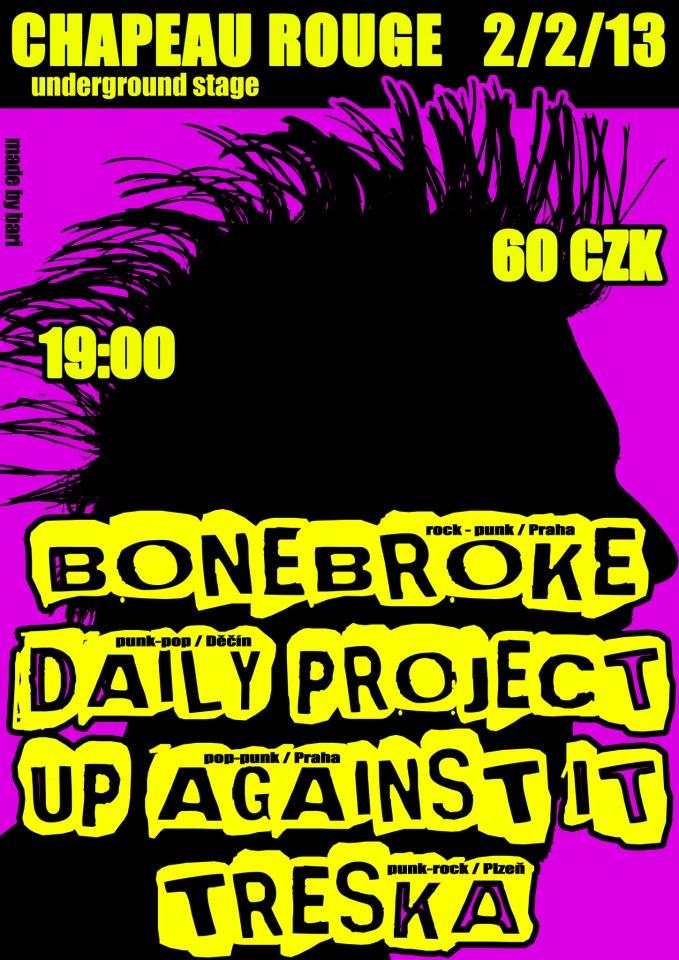 Rock/Punk/Pop Night v Chapeau Rouge již za týden!