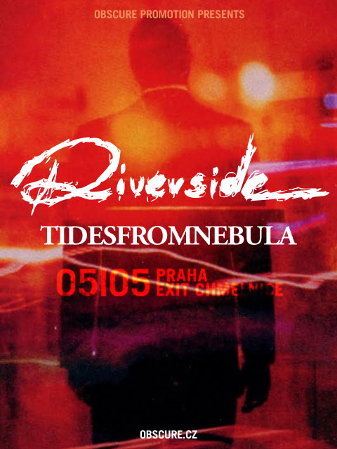 Objev progresivního rocku RIVERSIDE vystoupí v Praze!