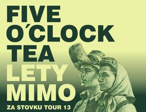 Soutěž o 2×1 vstup na pražský koncert Lety Mimo a Five O´clock Tea! (UKONČENO)