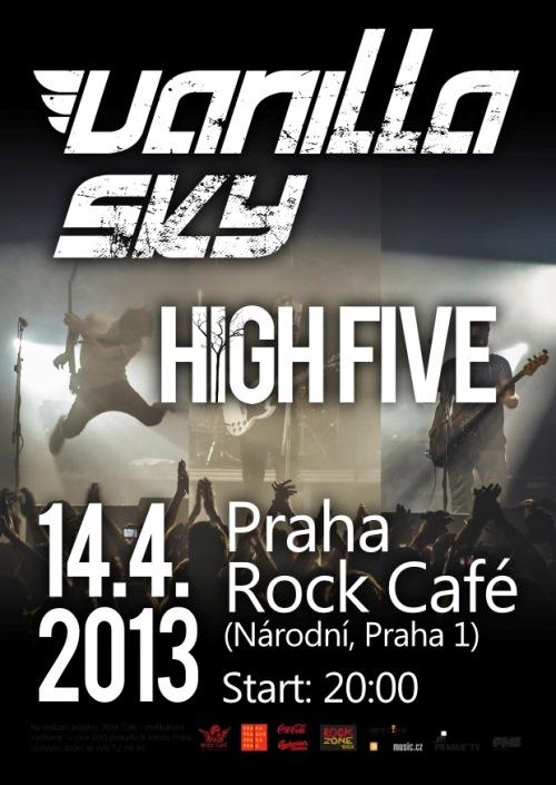Italská kapela Vanilla Sky za 14 dní v Rock Café!!!