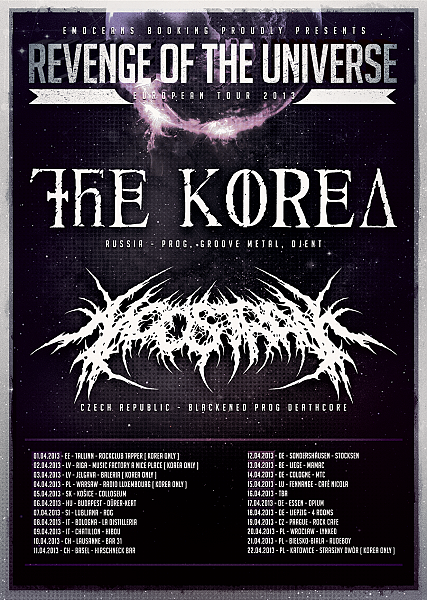 NOOSTRAK na svém druhém evropském tour!