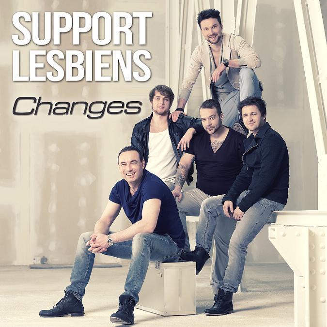 """""""Život je změna"""" potvrzuje první singl Support Lesbiens v nové sestavě!"""