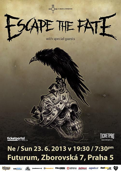 Escape the Fate představí své nové album také v Praze!