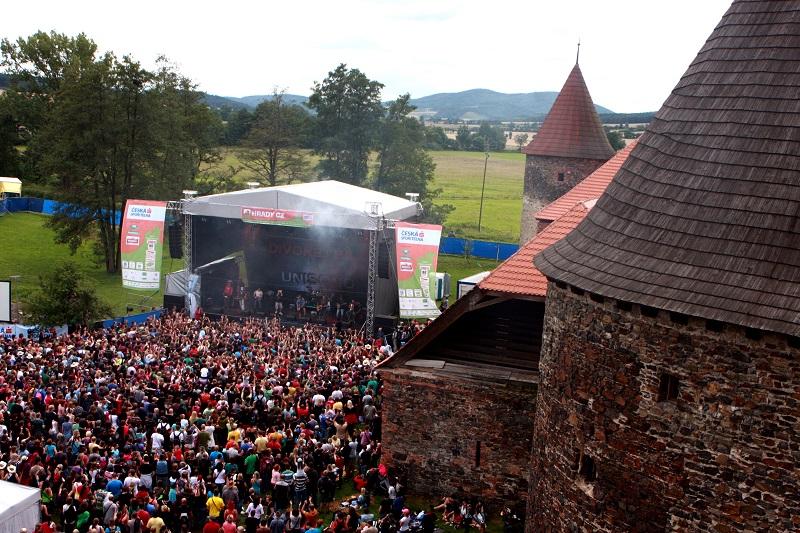 Na festivalu Hrady CZ vystoupí největší esa české hudební scény!