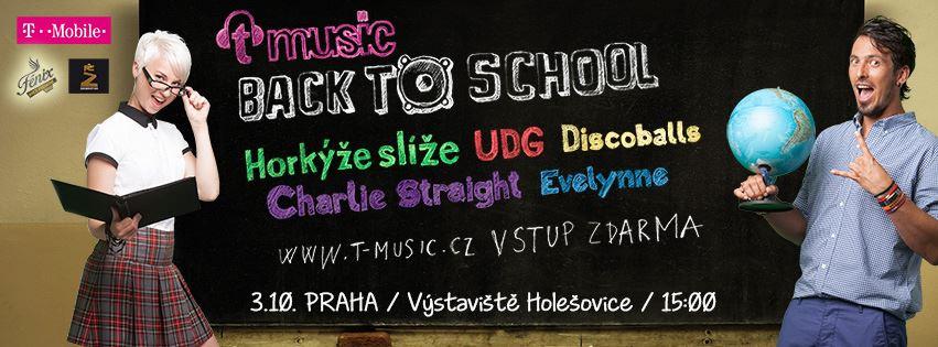 Zahájení školního roku s T-Music Back To School!