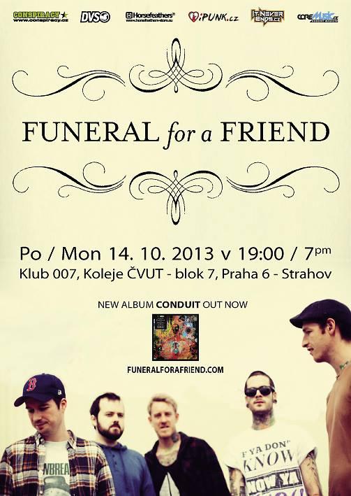 Funeral for a friend opět v ČR!