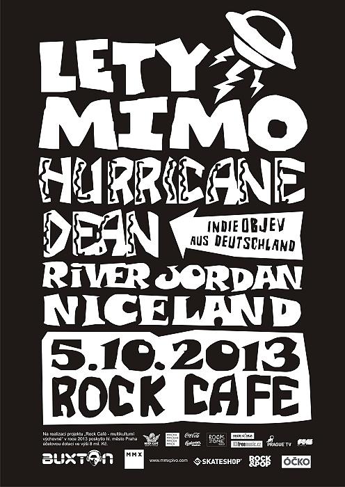 Po dvou letech Lety Mimo v Rock Café!