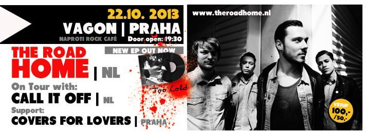 Nizozemští The Road Home v rámci evropského tour navštíví Prahu!