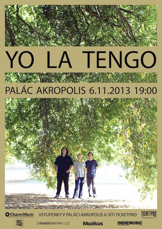 Yo La Tengo, legendy americké nezávislé scény v Paláci Akropolis!