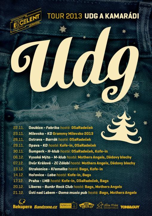 UDG představují nový videoklip a vyrážejí na vánoční turné s přáteli!