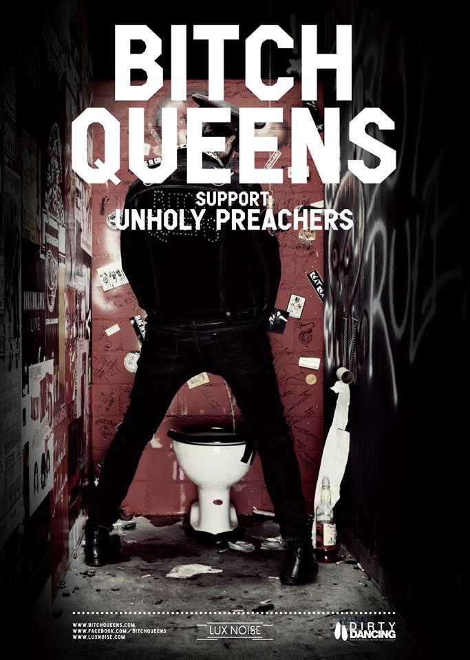 Bitch Queens (CH) + The Unholy Preachers + Dj Stiggma na SEDMIČCE!