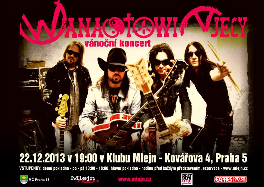 V prosinci proběhne tradiční vánoční koncert kapely Wanastowi Vjecy!