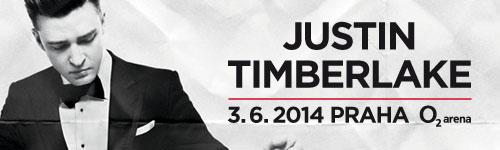 Justin Timberlake zavítá do Prahy během svého světového turné!