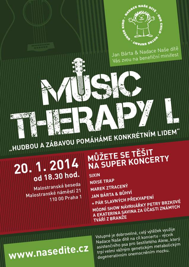 Music Therapy – Koncert na pomoc druhým!