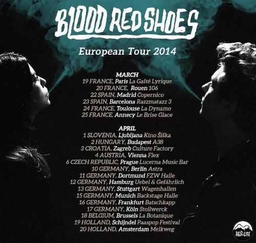 Blood Red Shoes s novým albem v Praze!