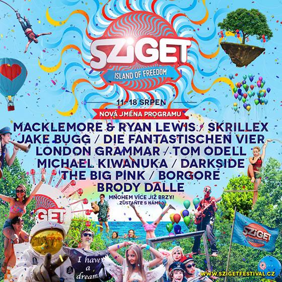 Festival Sziget: nová jména v programu 2014
