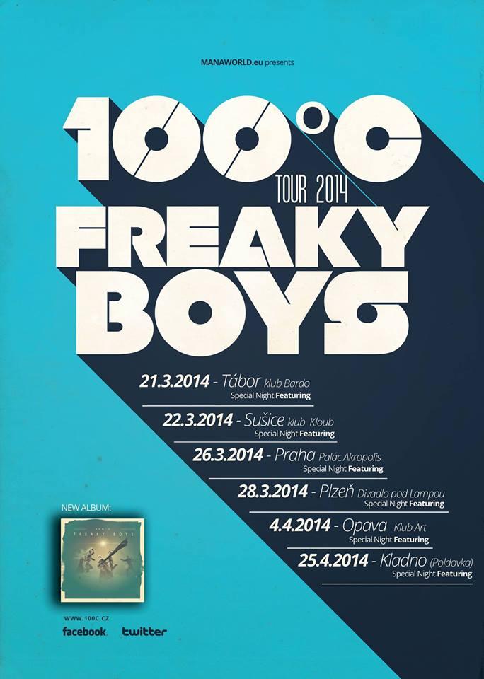 Kapela 100°C vyráží na tour 2014 a chystá křest nové desky!
