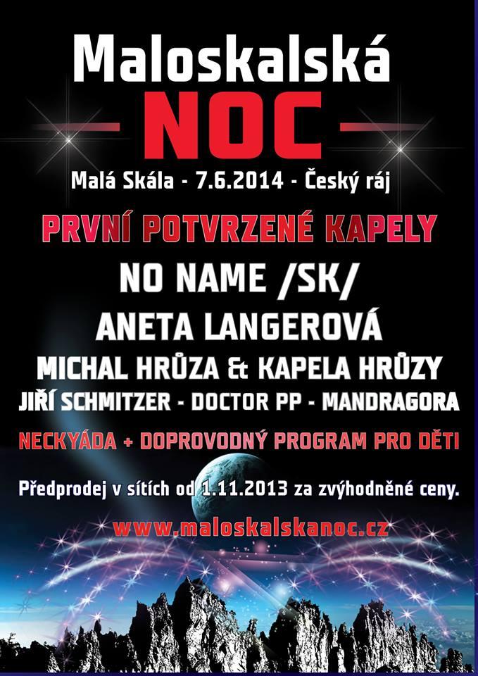 Maloskalská noc aneb hudební festival vMalé Skále!