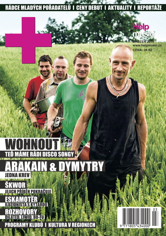 HelpMusic březen 2014 s kapelou Wohnout!