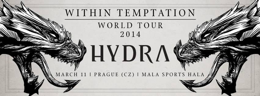 Within Temptation přivezou do Prahy Hydru!