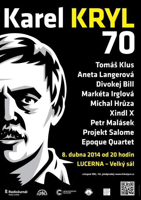 Koncert k nedožitým 70.narozeninám Karla Kryla proběhne v pražské Lucerně!