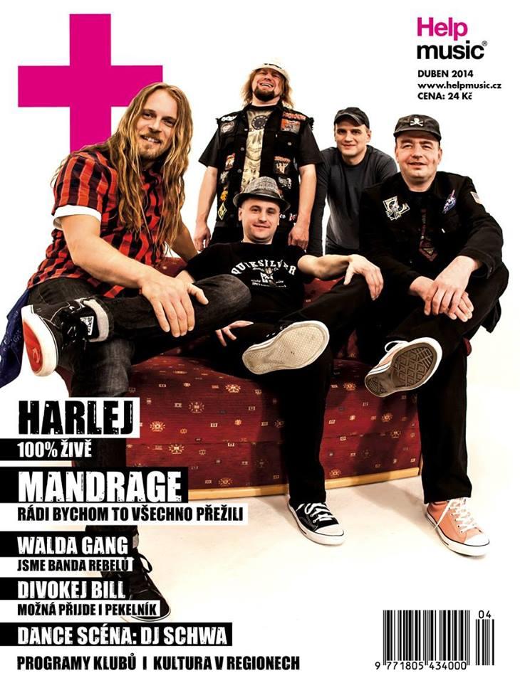DUBEN 2014 patří v HelpMusicu kapele Harlej!