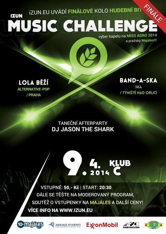 Klub C už popáté bude patřit iZUN Music Challenge!