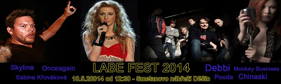 Labe fest láká na Monkey Business a Chinaski!