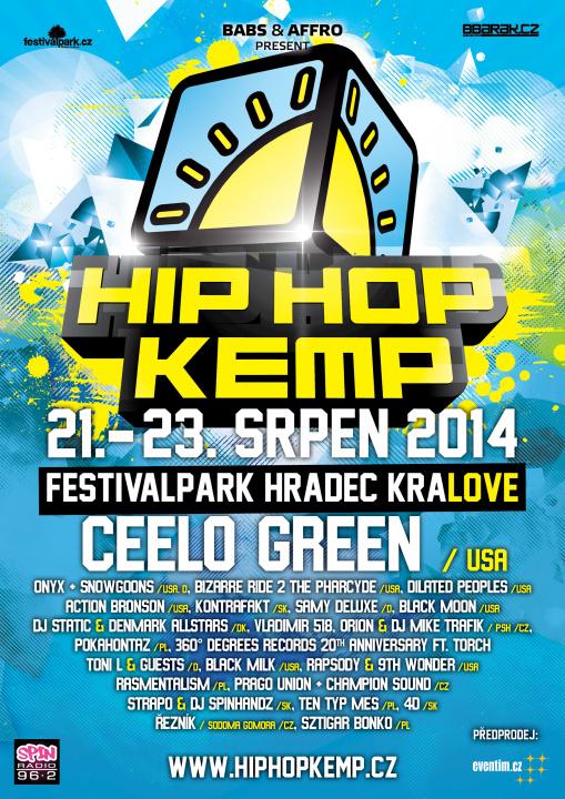 CRAZY CEELO GREEN KONEČNĚ V ČESKU – JAKO HEADLINER FESTIVALU HIP HOP KEMP