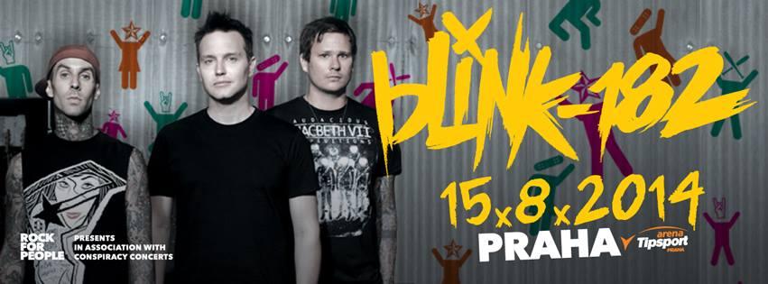 Potvrzeno! Blink-182 vystoupí poprvé v Praze!