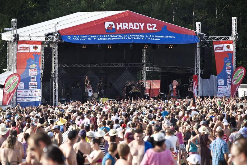 Jubilejní desátý ročník festivalu Hrady CZ nabídne větší areály i nové interprety!
