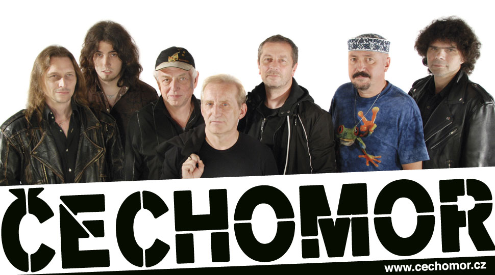 Skupina ČECHOMOR připravuje prázdninové open-air koncerty!