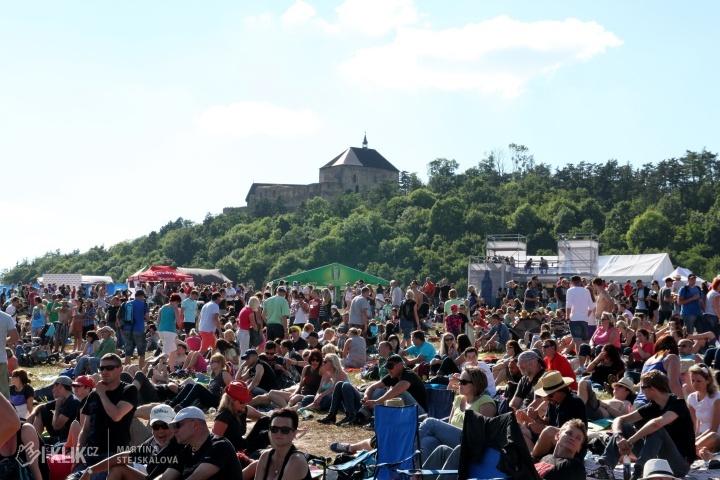 Festival Hrady CZ má kompletní program, přidává jedno pódium, zvětšuje areály a rozšiřuje služby pro návštěvníky