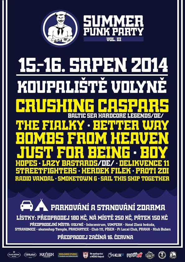 Volyňská Summer Punk Párty se nezadržitelně blíží!
