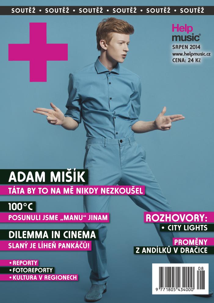 Adam Mišík v srpnovém HELPMUSIC!