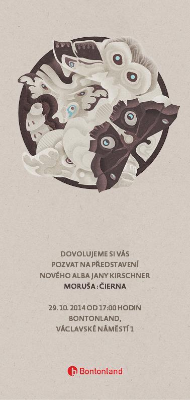 Jana Kirschner představuje úvodní singl Muzika! z alba Moruša Čierna