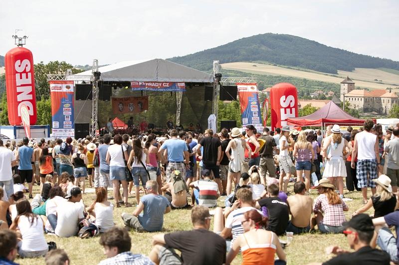 Hudební festival Hrady CZ se tento víkend představí na Švihově!