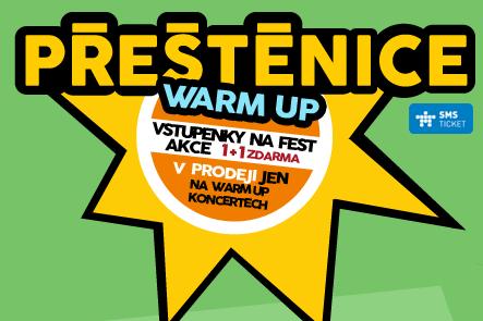 SOUTĚŽ: Vyhraj vstupenky na WARM UP PÁRTY festivalu Přeštěnice! (UKONČENO)