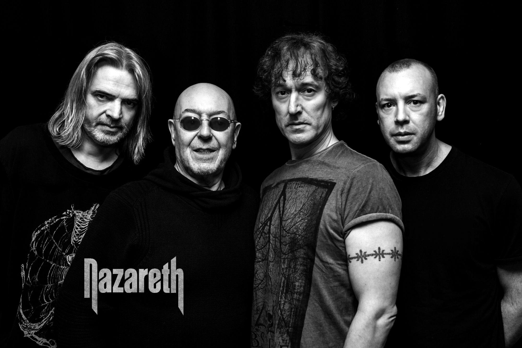 Nazareth se už za dva týdny zahrají v Brně a v Praze