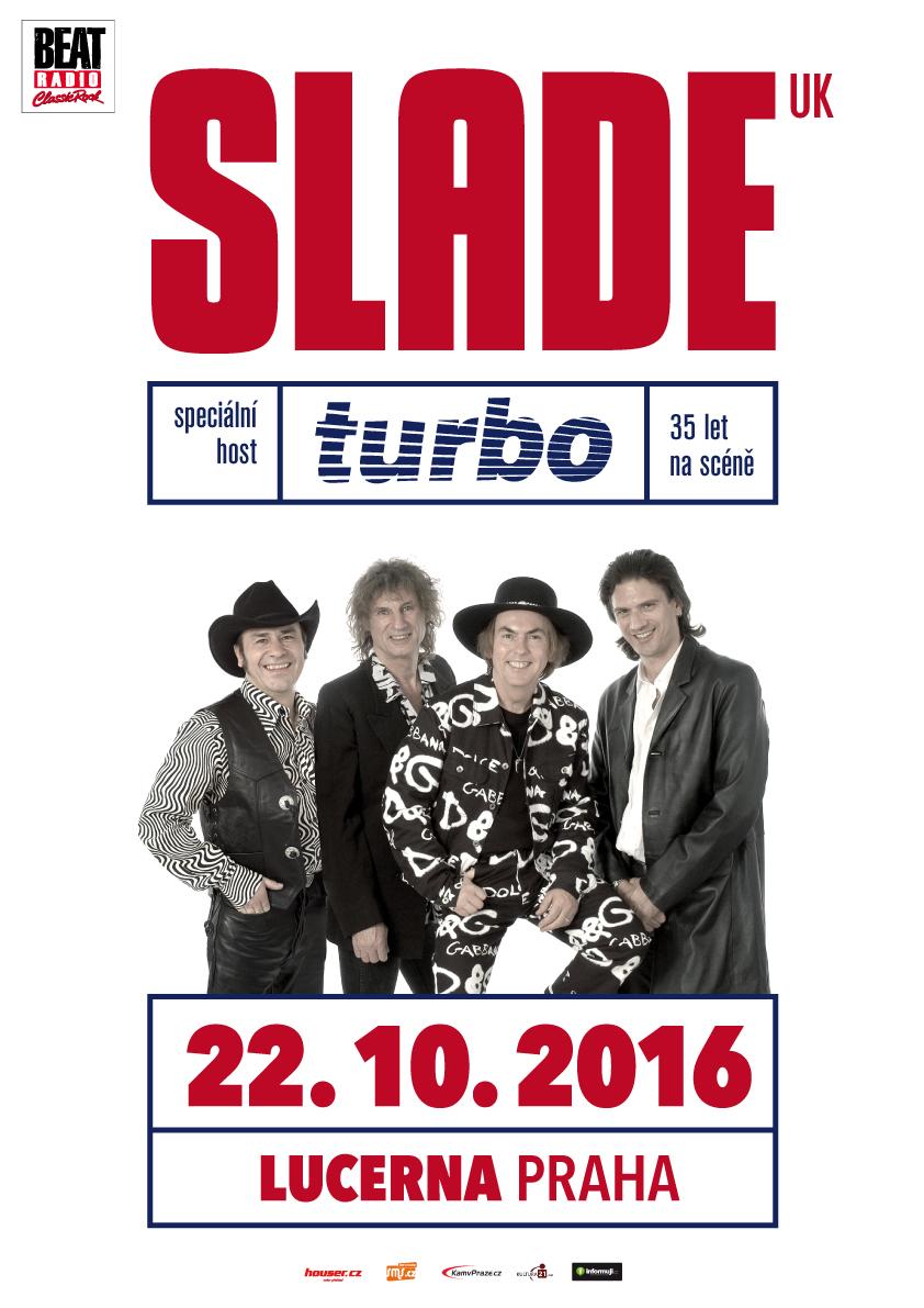 SLADE slaví 50 let, vystoupí v Brně a v Praze!