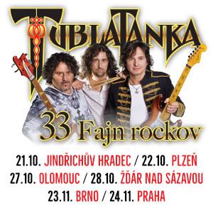Tublatanka 33 Rockov Tour!
