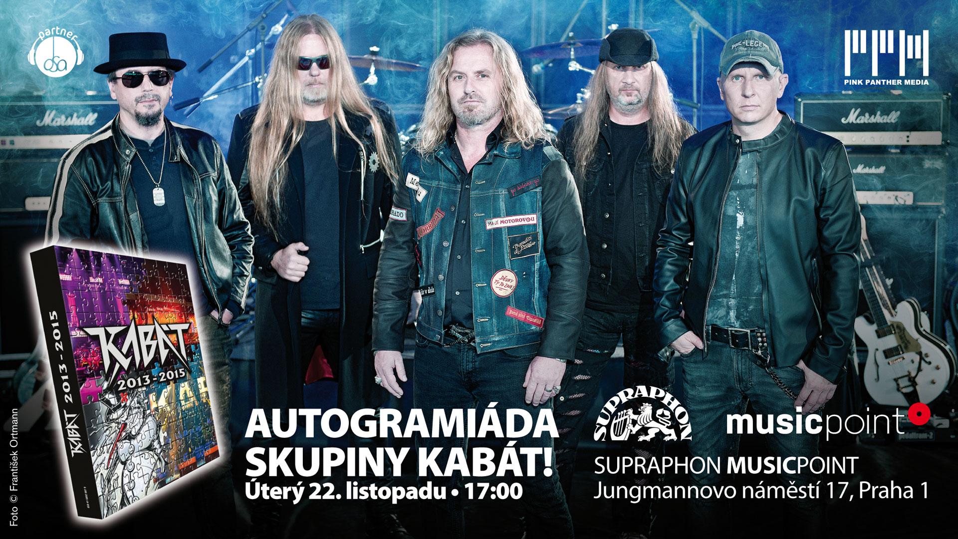 Autogramiáda kapely KABÁT