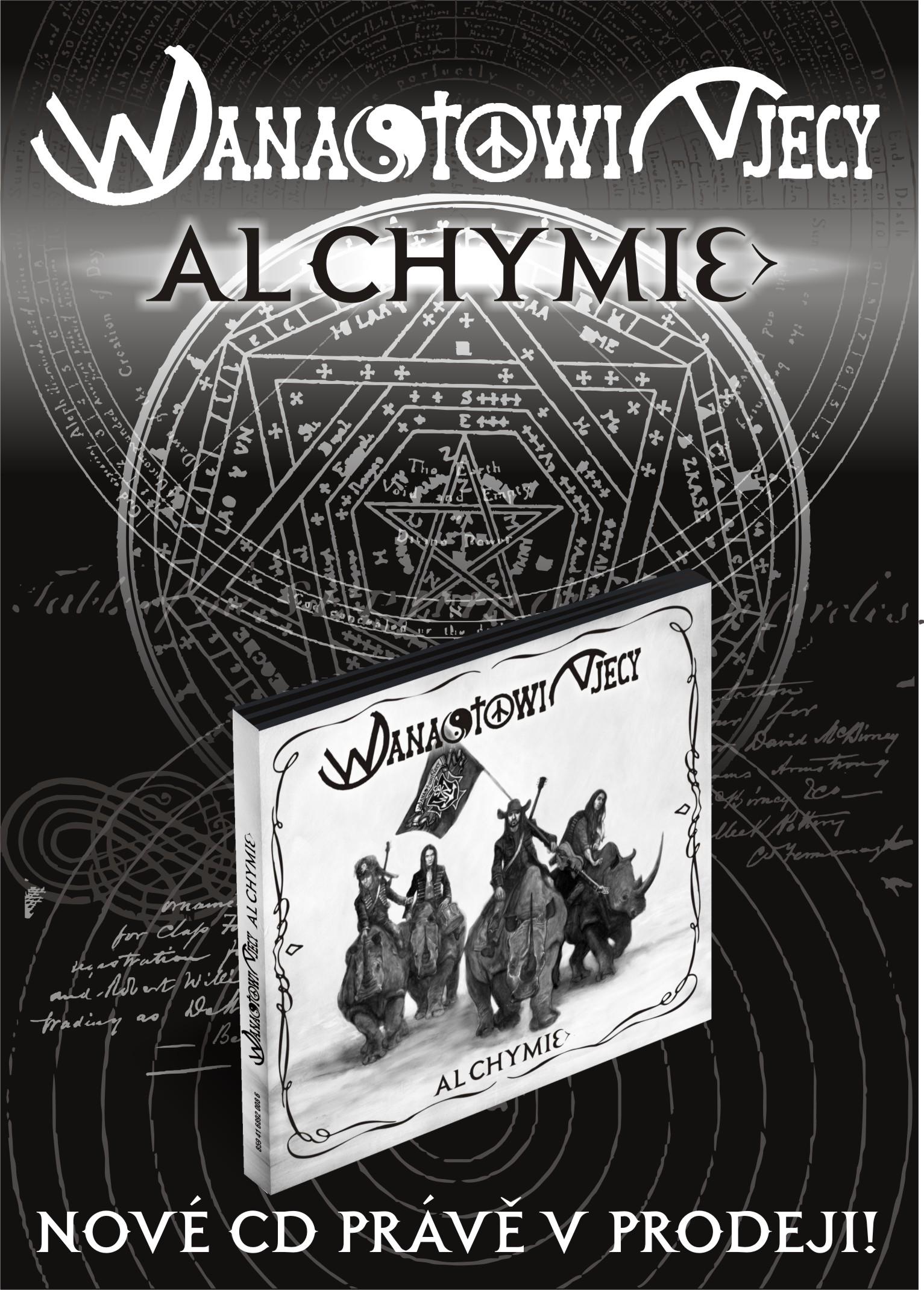 Wanastowi Vjecy vydávají nové CD Alchymie