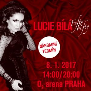 Koncerty Fifty – Fifty Lucie Bílé se překládají na leden 2017