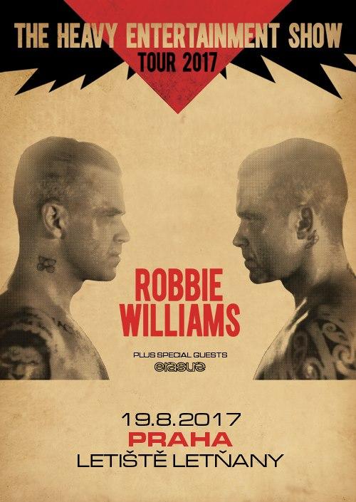 Robbie Williams přijede do Prahy!