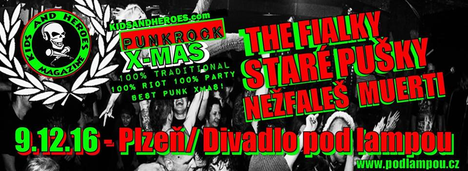 Kids and heroes punkrock X-mas 2016