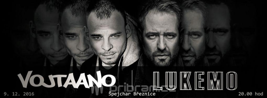 VOJTAANO a LUKEMO – nepochochybně zajímavý hudební zážitek (9. 12. 2016 v Březnici)