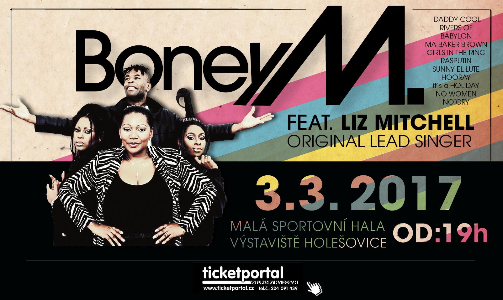 ROZHOVOR S HLAVNÍ ZPĚVAČKOU BONEY M, vystoupí v Praze již v pátek!
