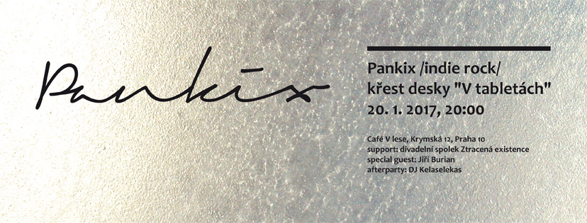 Křest nového alba kapely Pankix!