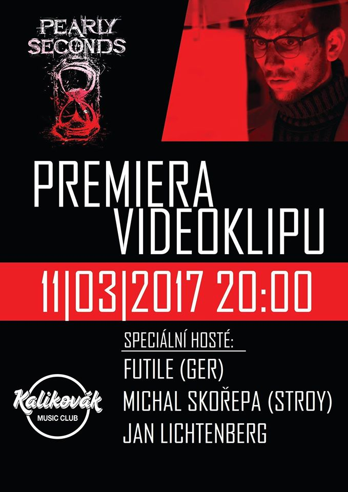 Pearly Seconds – premiéra videoklipu v Plzni!